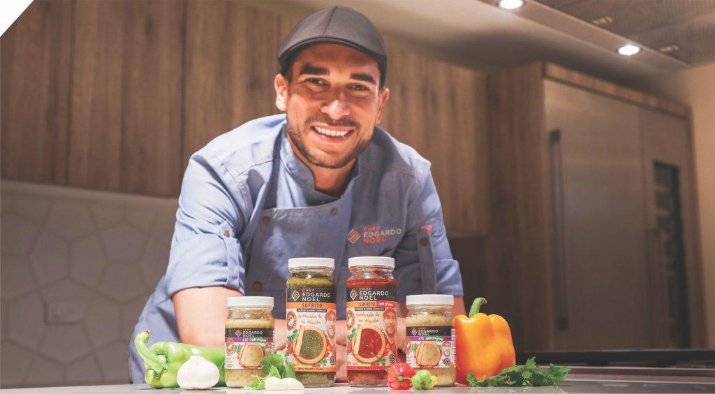 Chef Edgardo Noel lanza su nueva línea de productos para la cocina puertorriqueña