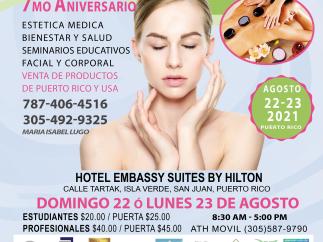 International Convention Aesthetics Spa & Massage PR & USA 2021