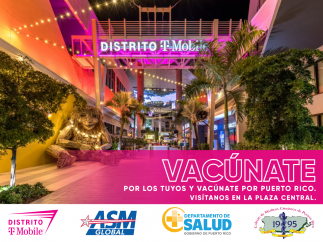Distrito T-Mobile incentiva a la ciudadanía a que se vacunen